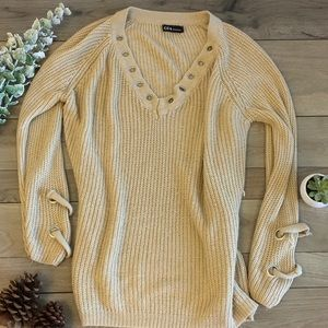 Sweaters - Ribbed sweater